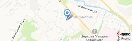 Ассорти на карте Горно-Алтайска