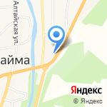 Магазин автозапчастей для иномарок на карте Маймы