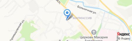 Бош Термотехника на карте Горно-Алтайска