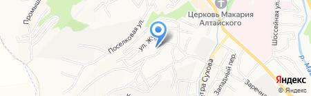 Специальная коррекционная общеобразовательная школа-интернат I на карте Горно-Алтайска
