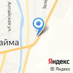 СитиОйл на карте Маймы