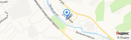 Детский сад №11 на карте Горно-Алтайска