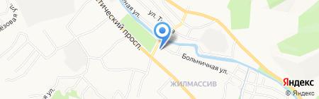 Банкомат Банк Зенит на карте Горно-Алтайска