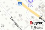 Схема проезда до компании Мастерская резки стекла в Горно-Алтайске