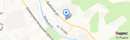 Престиж на карте Горно-Алтайска