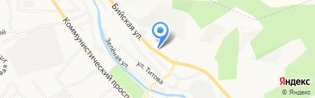 Шинный комплекс на карте Горно-Алтайска