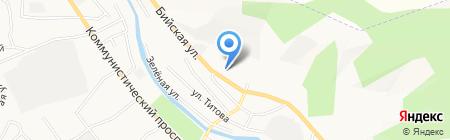Жестяной цех на карте Горно-Алтайска