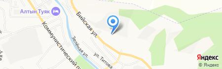 Наша банька на карте Горно-Алтайска