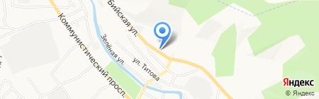 Драйв на карте Горно-Алтайска