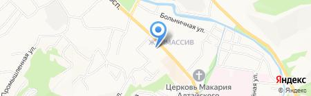Школа-интернат №1 для детей-сирот и детей на карте Горно-Алтайска