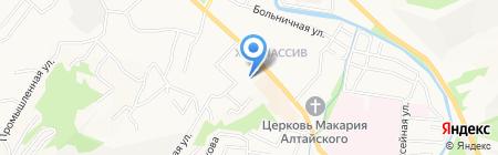 Центр психолого-медико-социального сопровождения на карте Горно-Алтайска