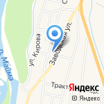 Фельдшерско-акушерский пункт на карте Маймы