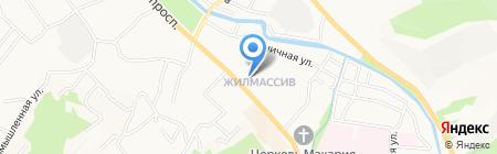 Аптека №98 на карте Горно-Алтайска