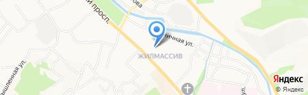 Мясной магазин на Коммунистическом проспекте на карте Горно-Алтайска