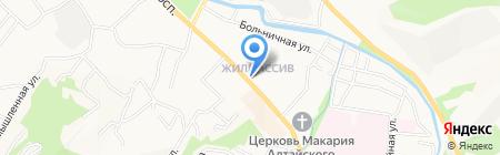 Горно-Алтайское кредитное агентство на карте Горно-Алтайска