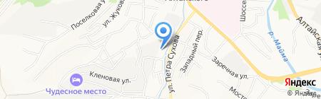 Риэл-Ком на карте Горно-Алтайска
