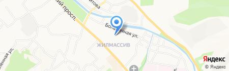 Натали на карте Горно-Алтайска