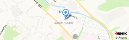 Ромашка на карте Горно-Алтайска