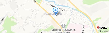 Банкомат АКБ МОСОБЛБАНК на карте Горно-Алтайска