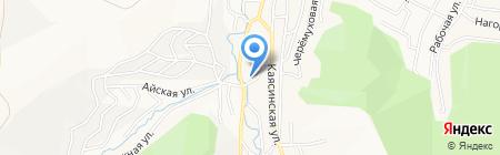 У Иваныча на карте Горно-Алтайска