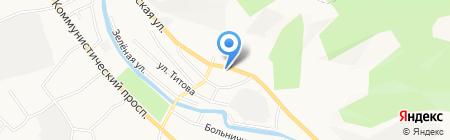 Кумир на карте Горно-Алтайска