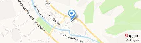 Гаран на карте Горно-Алтайска