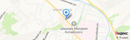 ВЕРСАЛЬ на карте Горно-Алтайска
