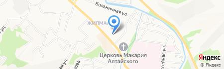 Шанс на карте Горно-Алтайска