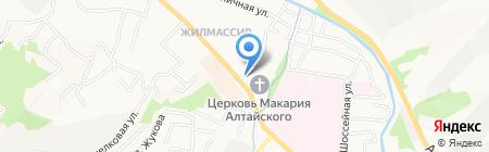 VALUTER.RU на карте Горно-Алтайска