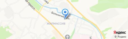 Гимназия №3 на карте Горно-Алтайска