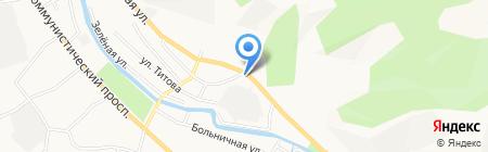 ШИНТОП на карте Горно-Алтайска