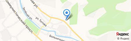 Зум мастер на карте Горно-Алтайска
