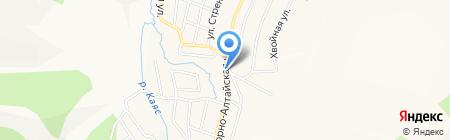Участковый пункт полиции МВД по г. Горно-Алтайску на карте Горно-Алтайска