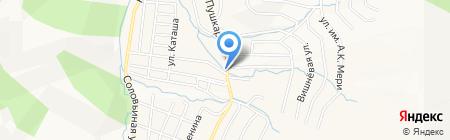 Лидер на карте Горно-Алтайска