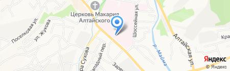 Республиканская детская поликлиника на карте Горно-Алтайска