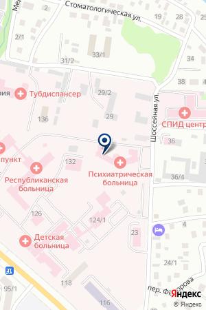 АВТОБАЗА МЕДАВТОТРАНС на карте Горно-Алтайска