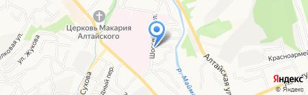 Гостевой дом на карте Горно-Алтайска