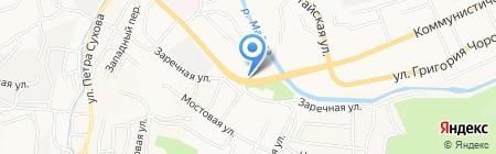 Управление ФСБ России по Республике Алтай на карте Горно-Алтайска