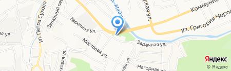 АЗС Вега на карте Горно-Алтайска