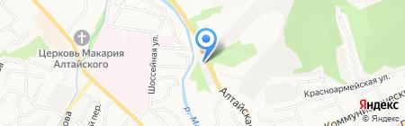 Motobox на карте Горно-Алтайска