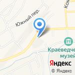 Гурьевский пищекомбинат на карте Гурьевска