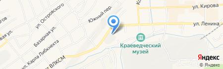 Фирменный магазин на карте Гурьевска