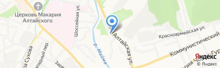 АЗС Салекс на карте Горно-Алтайска