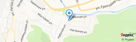 Аист на карте Горно-Алтайска