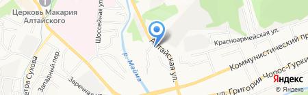 ШашлыкON на карте Горно-Алтайска