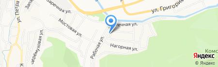 Транспортная компания на карте Горно-Алтайска