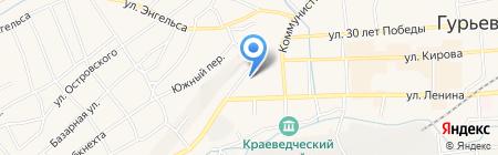 Детский сад №8 Сказка на карте Гурьевска