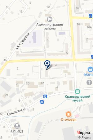 АТС СИБИРЬТЕЛЕКОМ на карте Гурьевска