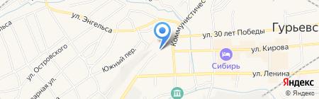 Совет народных депутатов Гурьевского муниципального района на карте Гурьевска