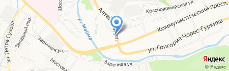 XСтиль на карте Горно-Алтайска